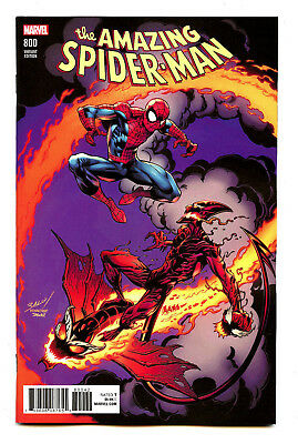 Red Goblin Mark Bagley Variant Cover 2018 VF//NM Amazing Spider-Man #800