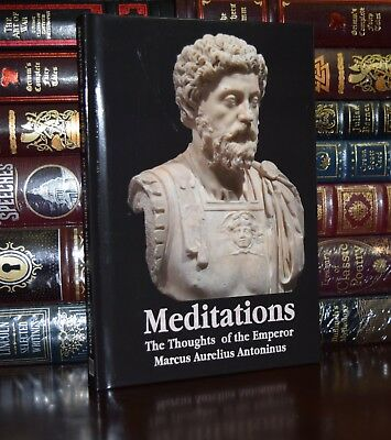 Meditations by Marcus Aurelius Brand New Illustrated  Hardcover Classics Gift