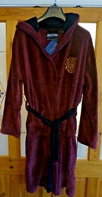 factory buy sale great discount Primark Harry Potter Red Dressing Gown Fleece Bathrobe Size S/M Men's Unisex