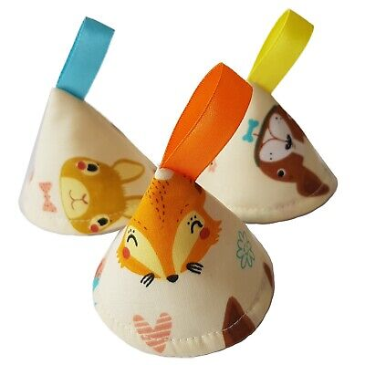 Fox Woodland Nature Pee Pee TeePee x3 Sprinkling Wee Wee   Baby Shower /Gift