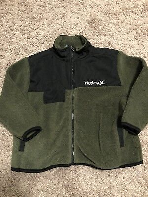 Hurley toddler coat 24 months ~ Hunter Green & Black Color