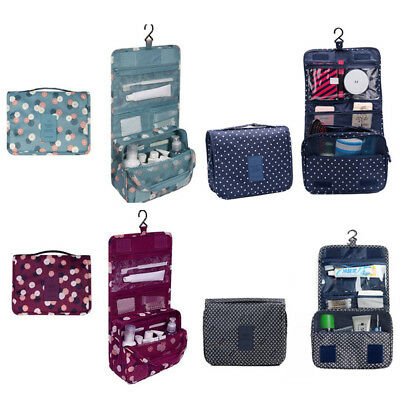 Portable Waterproof Folding Wash Bag Travel Toiletry Hanging Holder OrganizerBDA