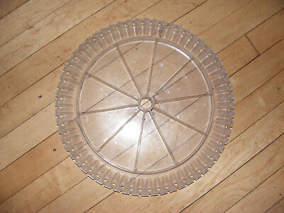 1~~White PLANTER  Seed Corn PLATE  agco soybean seed disc 700722513