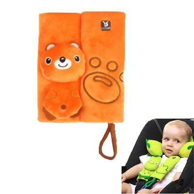 Nuby Strap Covers Monster Yellow Infant Car Seat Baby Belt Stroller Accessories