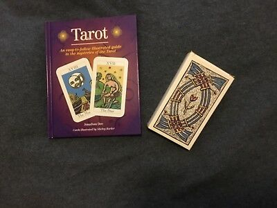Tarot Cards and 64 page Full Colour Book by Jonathan Lee