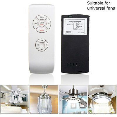 Universal Ceiling Fan Lamp Remote Control Kit Timing Wireless Control 110V/220V