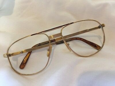 Rare Vintage 14K Gold Filled Desil Touring DP 56-18 Spectacle  Glasses Frames