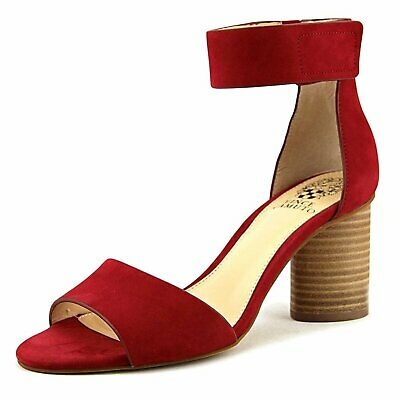 1c209e2911c6 Vince Camuto Womens Jacon Leather Open Toe Casual Ankle Strap Sandals