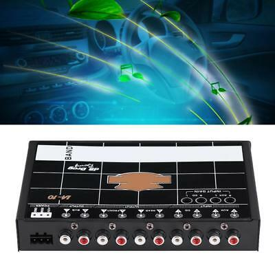 Graphic Equalizer EQ 7s High Performance 7 Band Car Auto Audio Stereo Tuner ZY