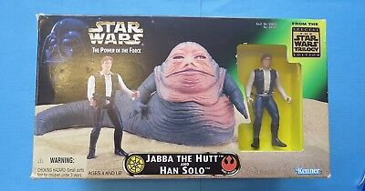 1997 - Star Wars - Power Of The Force - Jabba The Hutt And Han Solo