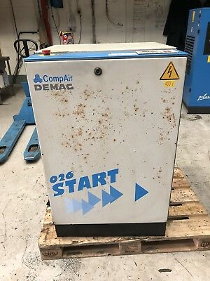 Compair START 26 Air Screw Compressor 15kw 71CFM 10 BAR!