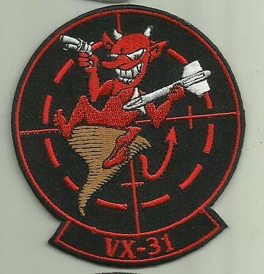VX-31 U.S NAVY PATCH Air Test and Evaluation Squadron MISSILES AIRCRAFT WEAPONS