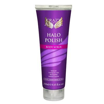Crazy Angel 250ml Halo Polish Body Scrub Skin Exfoliator Refines & Polishes