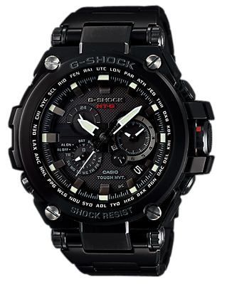 CASIO G-Shock MTG-S1000BD-1A Tough Solar Multi Band Triple G Radio Ready 2 Ship@