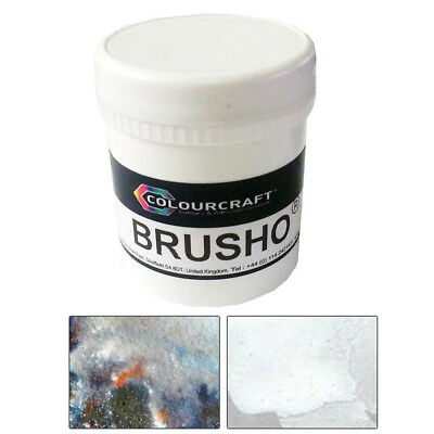 Colourcraft Brusho Crystal Colour Watercolour Pigment Powder Paint 50g Pots