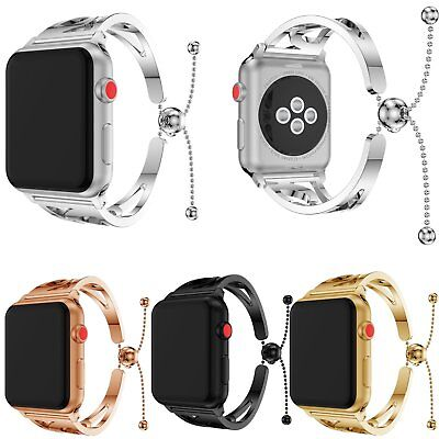Stylish Stainless Steel Band Strap Bracelet Bangle For Apple Watch Series 1 2 3