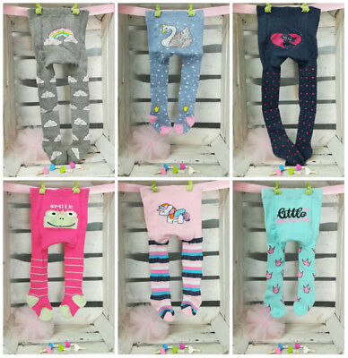 Baby Girl Cotton Crawling Terry Tights Pants