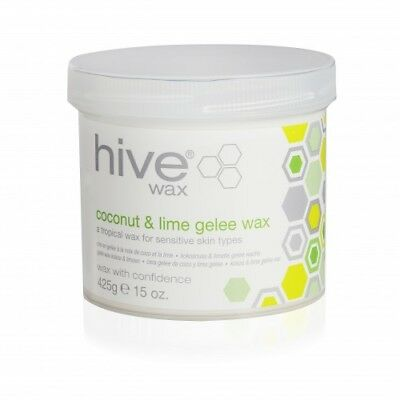 Hive of Beauty 425g Coconut & Lime Gelee Wax Tub For Hair Removal & Body Waxing