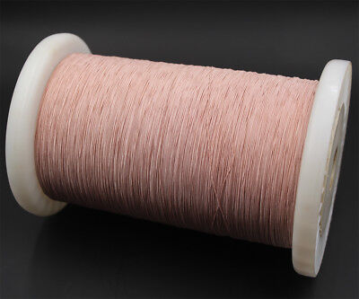 100m Litz wire 7/44, 7 x 0.05mm, single layer insulation, for crystal radio coil
