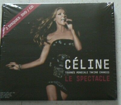 Le Spectacle - Tournee Mondial Taking Chances - Dion Celine (Cd+Dvd) Neuf Scelle
