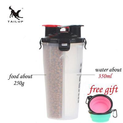 TAILUP Pet Travel Food and Water Storage Bottle