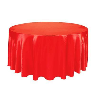 Waterproof Table Cloth Round Wide Party Dining Linen Wedding Tablecloth Cover