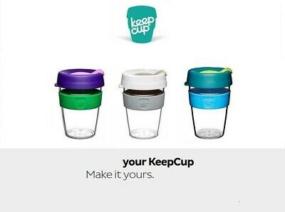 KeepCup Original Clear Edition, 5 Colors,3 sizes