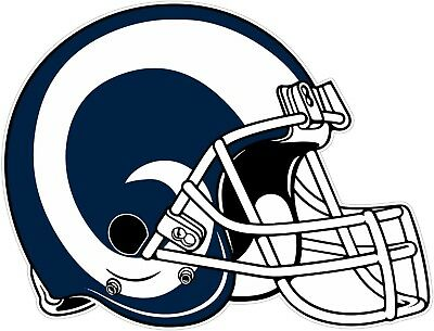 Los Angeles Rams Helmet NFL Vinyl Decal / Sticker Sizes Free Shipping