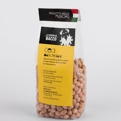 Chickpeas 250 gr typical grown in the Marche Apennines