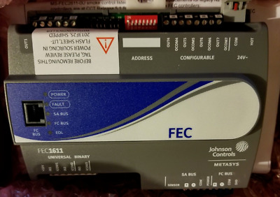 Johnson Controls MS-FEC1611-1 Field Equipment Controller 10 Point (Code 128)