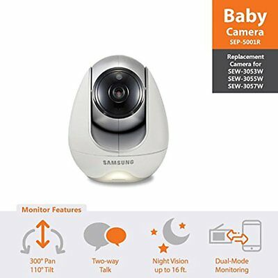 New SEP-5001R Wisenet Babyview Video Monitoring System Additional Camera