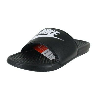 buy online 71744 c4e20 Nike Benassi Jdi Slides Black White 343880-090 Mens Us Sizes