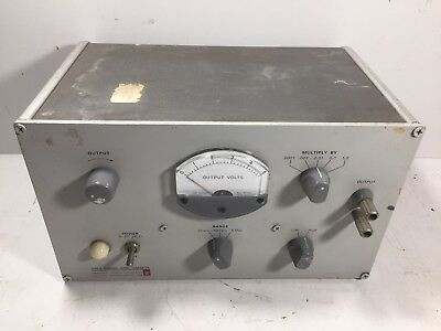 General Radio RANDOM NOISE GENERATOR 1390-B 1390 Grey