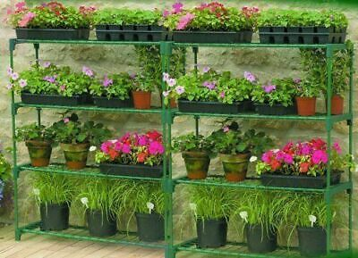 Double Pack Grow it  Flower Staging Display Greenhouse Storage Racking Shelving