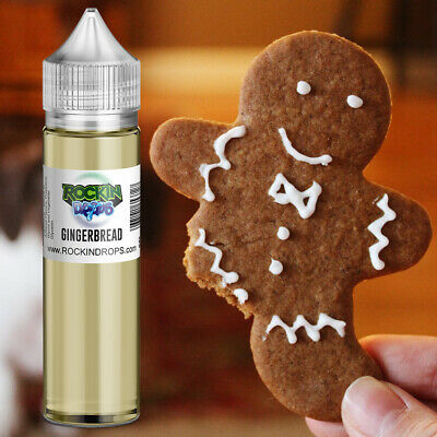 ROCKINDROPS Gingerbread Food Flavor Flavoring Concentrate TFA 10ml 30ml 50ml