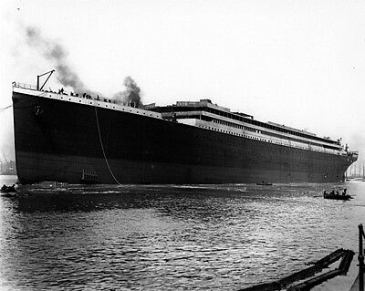 New 8x10 Photo: White Star Ocean Liner Ship RMS TITANIC Before Completion, 1911