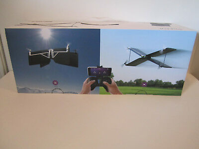 Parrot Swing Quadcopter Camera Drone With Plane Mode Flypad Controller Nib