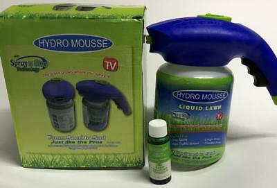 Hydro Mousse Household Seeding System Liquid Spray Seed Lawn Care Grass Shot Hot