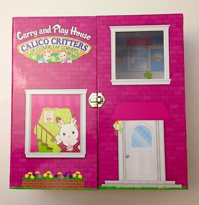 CALICO CRITTERS CLOVERLEAF Corners Carry & Play Case Storage ...