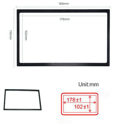 Auto Car 2 DIN DVD Radio Stereo Trim Mount Panel Frame Replacement Accessories