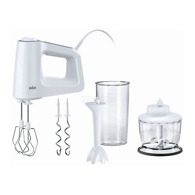 Braun HM3135 MultiMix3 500W 5 Speed Hand Mixer with Turbo