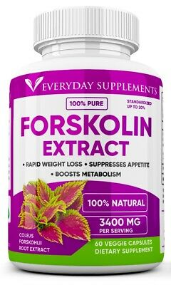 Forskolin Maximum Strength 100% Pure 3200mg Rapid Results! Forskolin Extract