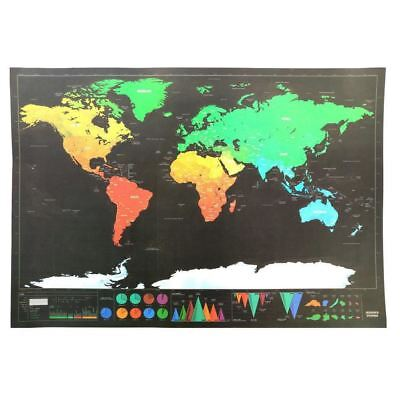 Scratch Map Of The World Travel Edition Deluxe Scratch Off Map Personalized Worl
