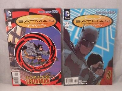 Batman Incorporated #1 Regular Cover & #1 Variant Set (2012, DC)