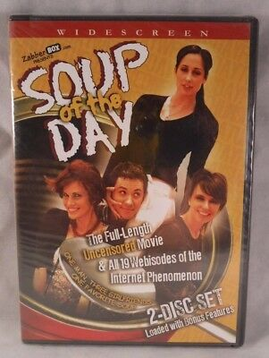 Soup of the Day (DVD, 2007, 2-Disc Set) Catherine Reitman, John Crowley Comedy