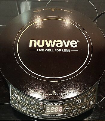 Nuwave GOLD Induction Cooktop (Portable) AS SEEN ON TV! SELLING FAST!