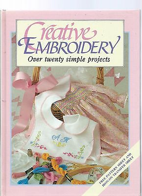 Creative Embroidery Over 20 Simple Projectswith Pattern Sheet & Iron On Transfer