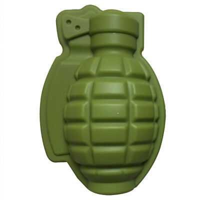 Grenade Kitchen Maker Silicone Bar Shape Trays Mold Ice Cube Party Mold Tool 3d