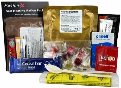 Ration-X Self Heating Field Ration Pack MRE Menu A