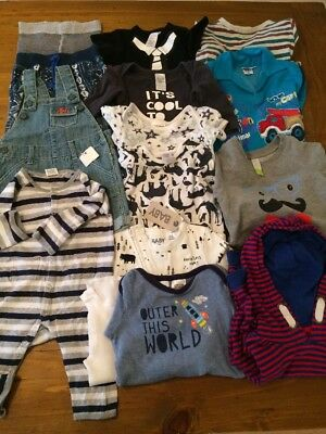 Baby Boy Bundle Size 0/1 approx 6-12 Months Old